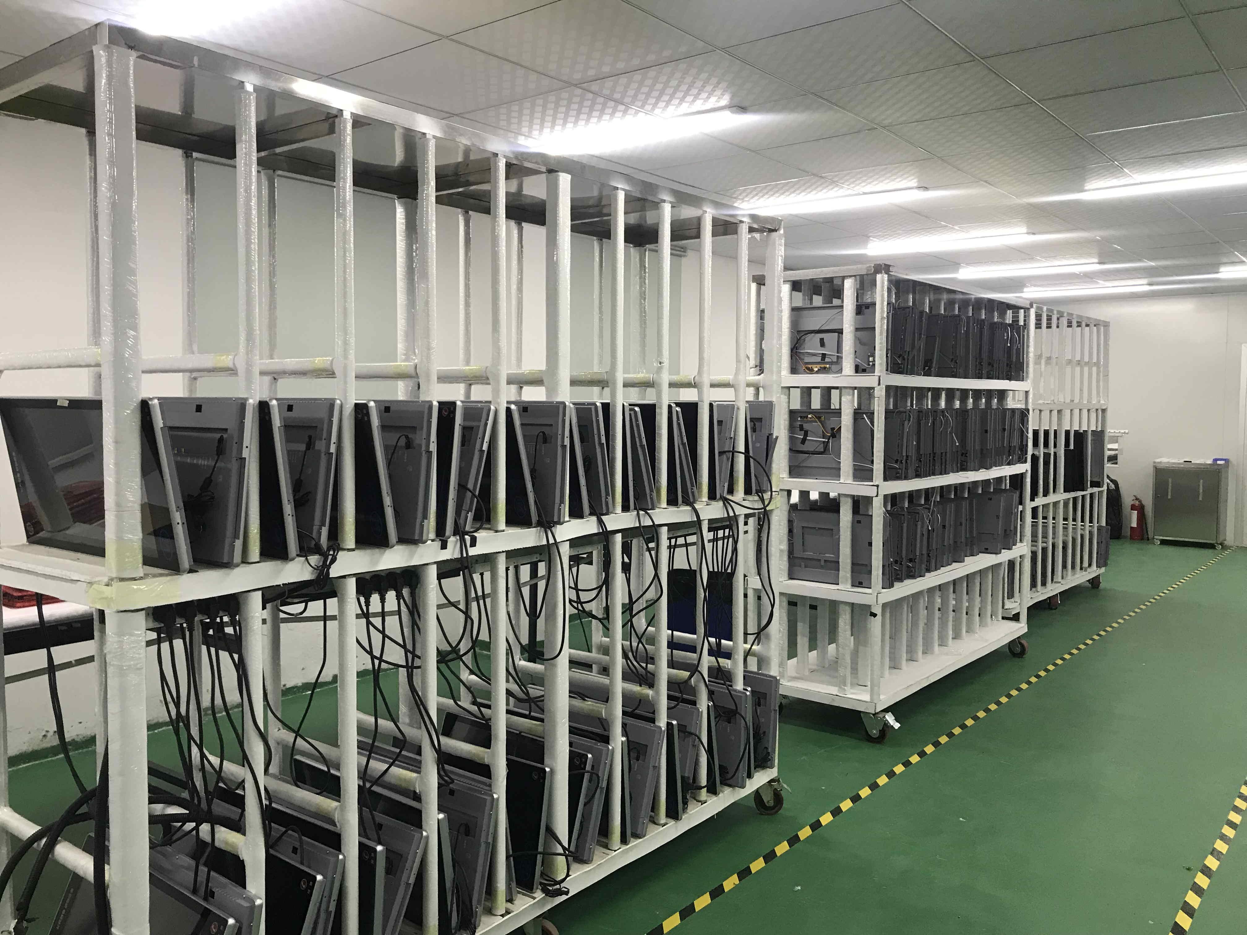 苏州电梯广告机项目生产